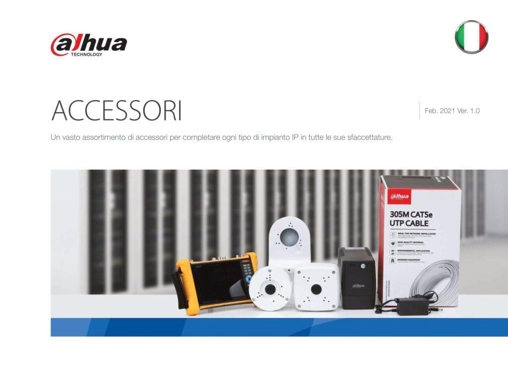 listino accessori Dahua
